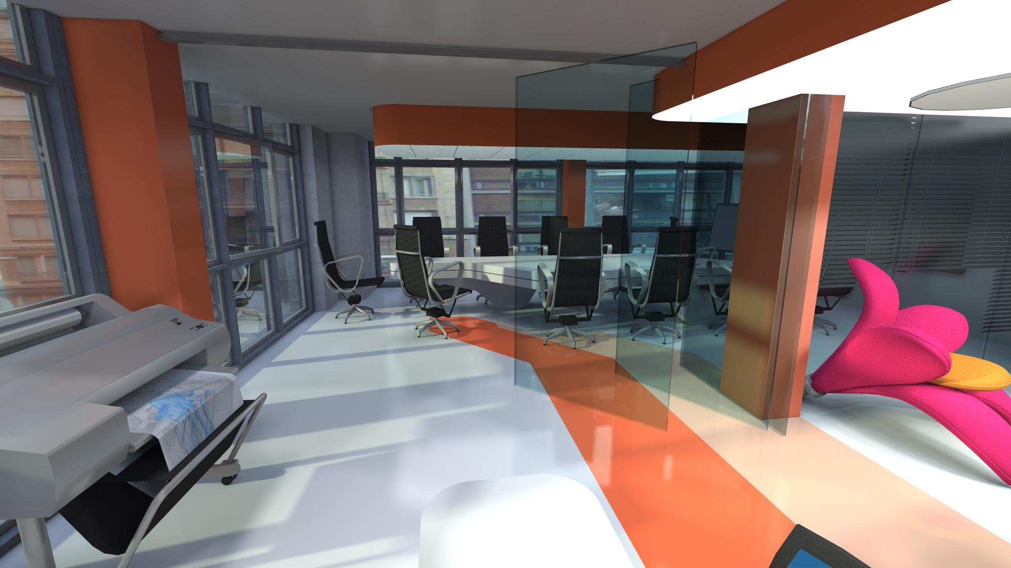 Dise o interior de estudio de arquitectura en barcelona - Estudios de arquitectura en barcelona ...